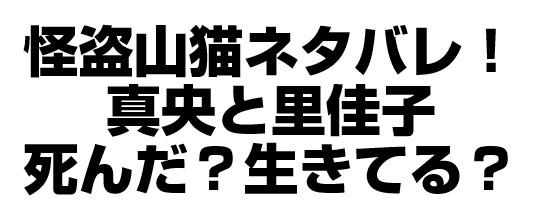 怪盗山猫ネタバレ!9話の火事で真央と里佳子はどうなった?