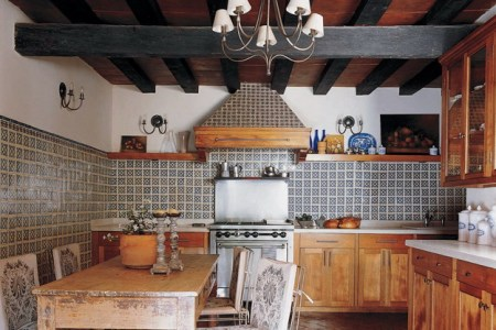 mexican style small kitchens and furniture dining set design