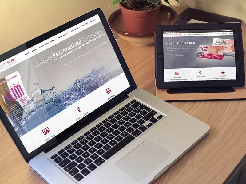 Designs For Plexus Website