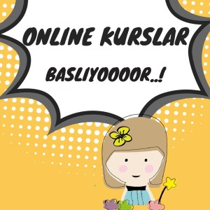 📽 Online Kurslarımız Başlıyooor 😎