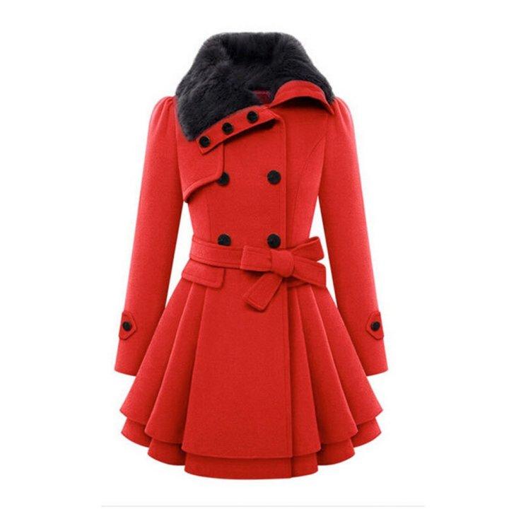 Abrigo de lana barato