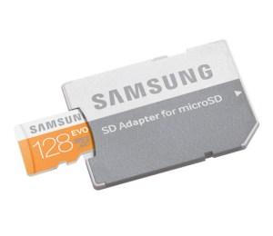 Samsung Evo de 128 GB