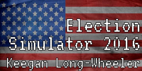 Election Simulator 2016 Cover