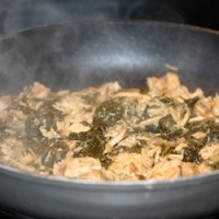 German Brown Coal ::: Braunkohl (Slow Cooked Kale & Pork)