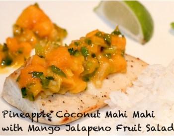 Mango Jalapeno Mahi