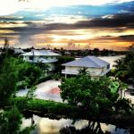 View from our rooftop in Islamorada