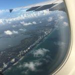 Abflug über Miami Beach