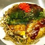 Delicious Okonomiyaki in Hiroshima!