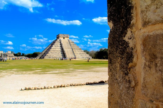 Chichen Itza Pyramid Mexico Kukulkan Cancun Tulum 15