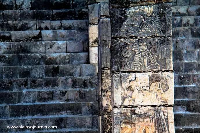 Chichen Itza Pyramid Mexico Kukulkan Cancun Tulum 8