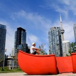 Red Canoe Landing Park in Toronto.