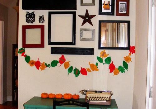 Gratitude Garland (tutorial)