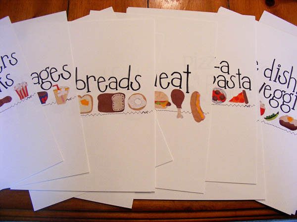 DIY Recipe Binder with printables