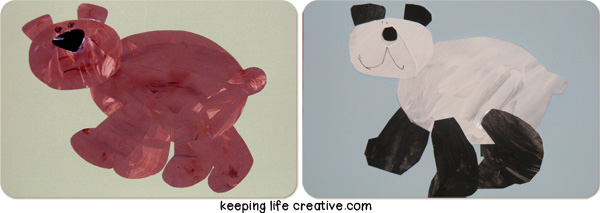 Bear Printable Craft with FREE template