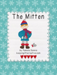 The Mitten Printable Story Set