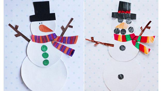 Printable Snowman Craft