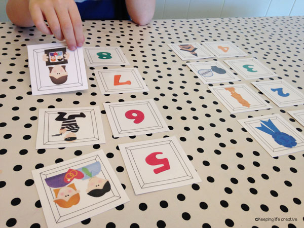 10 commandments matchup game