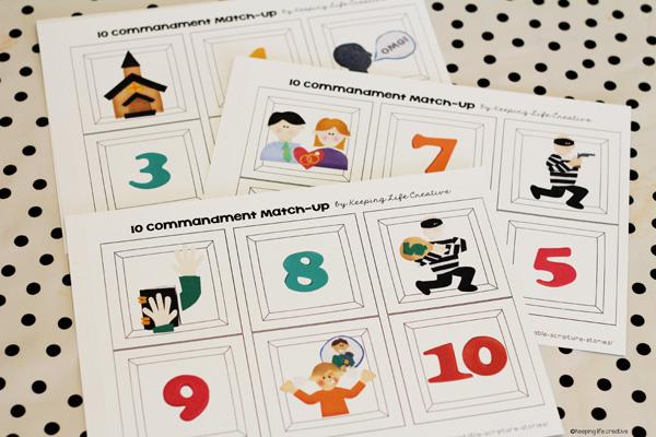 10 commandments matchup