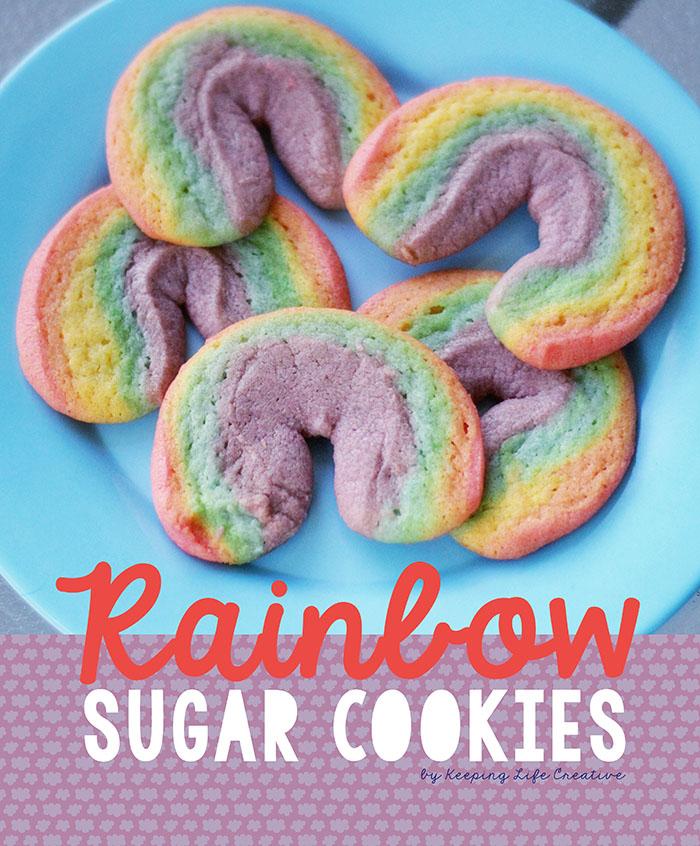 Rainbow Sugar Cookie Recipe