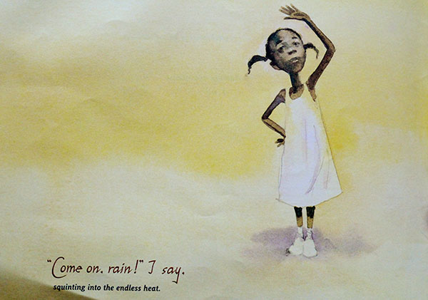 Too wet to go out? Create rainy day Watercolor and Salt Rain Art using drippy watercolor paint, and an extra salty surprise to emulate rain's texture.