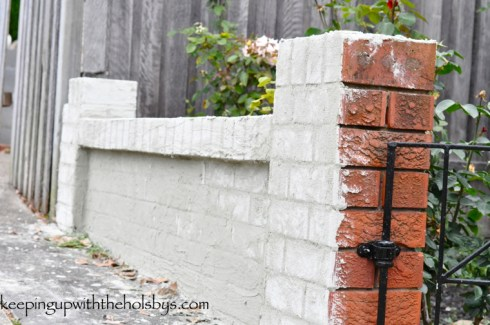 rendering the garden wall