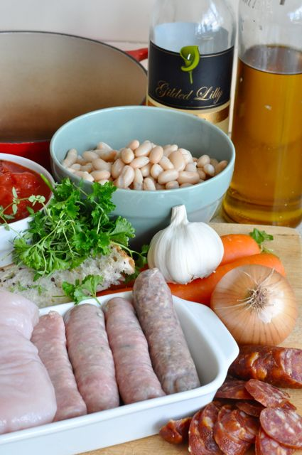 cassoulet ingredients