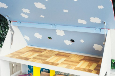 An attic rompus room for tear away teens to smoke dope and explore their sexuality