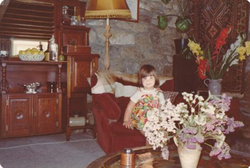 So sweet and innocent. Me at 2. Before clubbing.