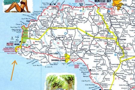 negril map