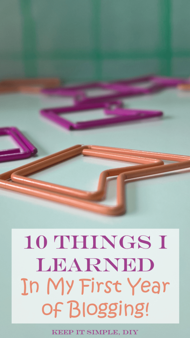 10 Things I Learned Blogging