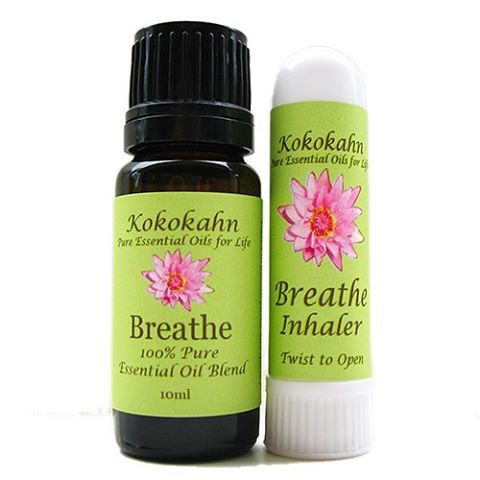 Breathe Essential Oil Blend assists in opening nasal passageways andhellip