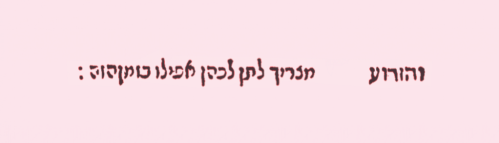 Rabbi Meir of Rothenberg's halacha directive, recorded by hi talmid