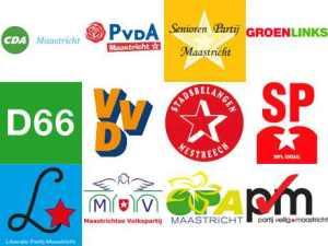 Diese Parteien stehen in Maastricht zur Wahl