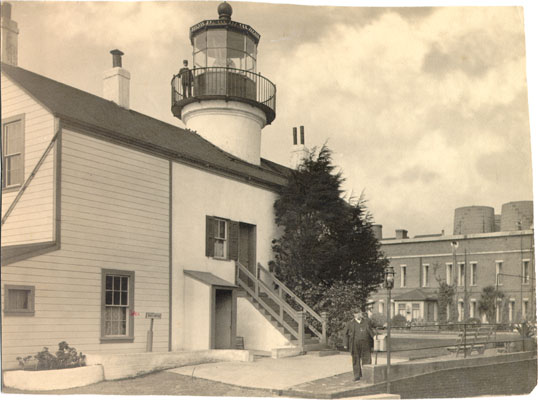 Original Lighthouse Circa 1893