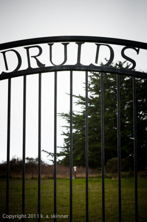 Druid's Cemetery Gate, Cuffey's Cove