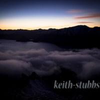 A sunrise hike on Isthmus Peak