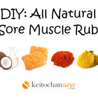 DIY: All Natural Sore Muscle Rub