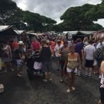 ハワイはファーマーズマーケットよりスワップミート