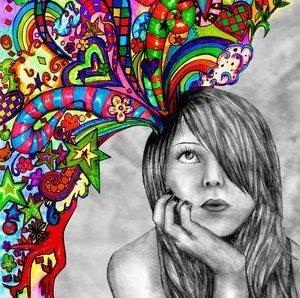 sensorik yang dihasilkan oleh imajinasi seseorang cukup kuat untuk mengubah persepsi dunia nyata