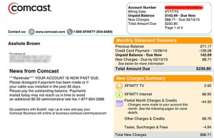 Are we even surprised at this point? Comcast.