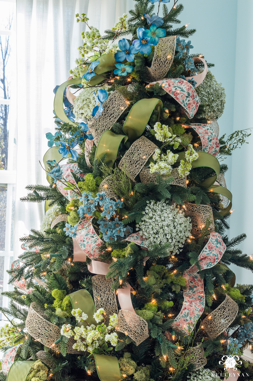 Showy Whimsical Ribbon How To Decorate A Tree Ribbon Ribbon Martha Stewart How To Decorate A Live Tree Ribbon Kelley Nan How To Decorate A Tree How To Decorate A Tree decor How To Decorate A Christmas Tree With Ribbon