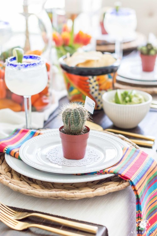 First Mexican Fiesta Party Mexican Fiesta Party Ideas Auntic Guacamole Mexican Party Food Ideas Pinterest Mexican Dinner Party Ideas Colorful Table Decorations