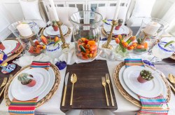 Sunshiny Mexican Fiesta Table Decoration Ideas Mexican Fiesta Party Ideas Auntic Guacamole Mexican Birthday Party Ideas Adults Mexican Party Ideas Party City