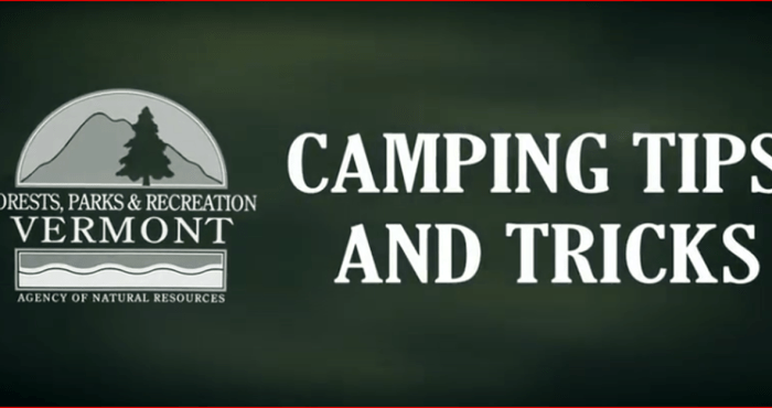 State Parks Camping Tips
