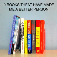9 books that have made me a better person