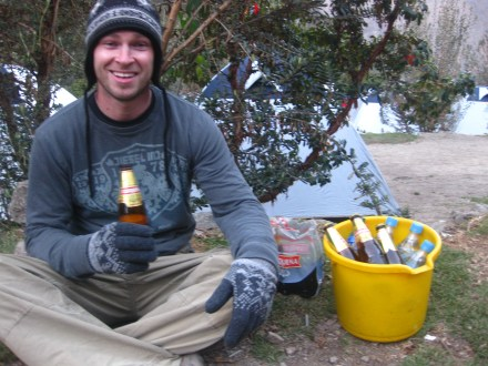 Gatorade and Beer on the Inca Trail