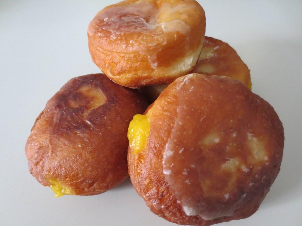 Mango Ginger Donuts