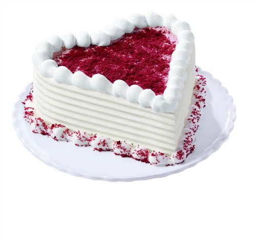 Dairy Queen Red Velvet Cupid Cake