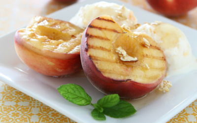 Grilled Peaches & Made in America Giveaway
