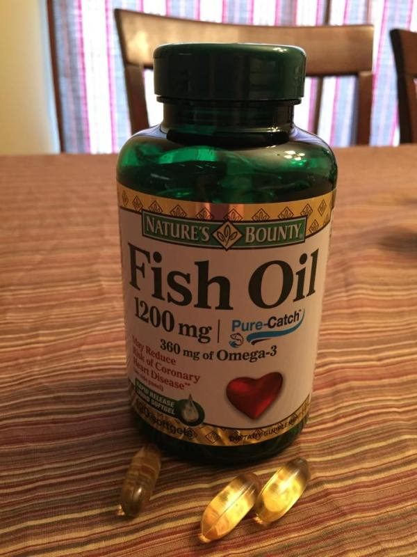 I 39 m a healthy champion with walmart and nature 39 s bounty for Liquid fish oil walmart